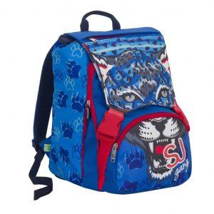 Sj Gang Fashion Seven School Pack Boy Zaino Estensibile + Astuccio Quick Case