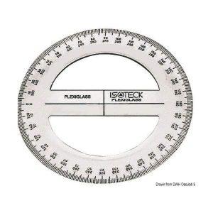 Gomiometro 360°/15 cm doppia millimetratura