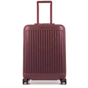 Trolley Piquadro cabina rigido ultra slim 4 ruote Seeker bordeaux