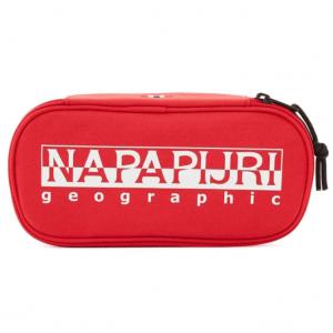 Astuccio Napapijri HAPPY pen organizer pop red