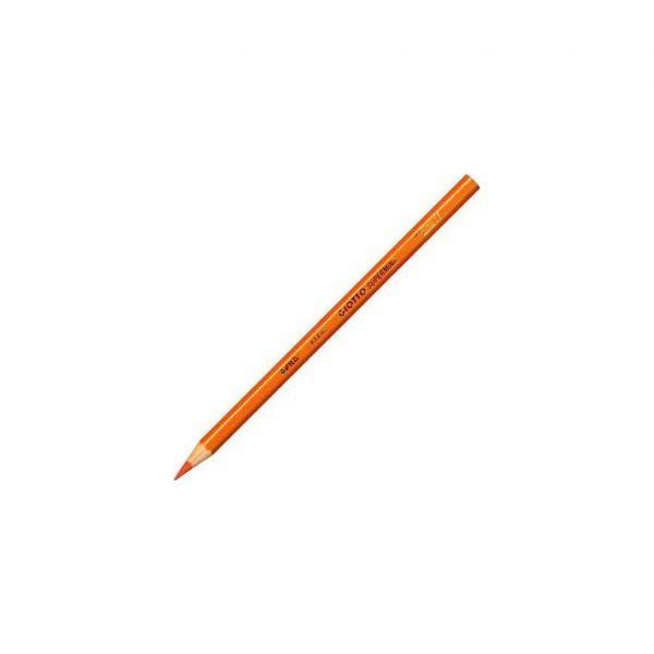 Giotto matita in legno refil Supermina arancione