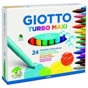 Pennarelli Giotto Turbo Maxi - 24 colori