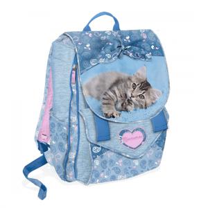 Zaino Rachaelhale estensibile gatto Jersen azzurro