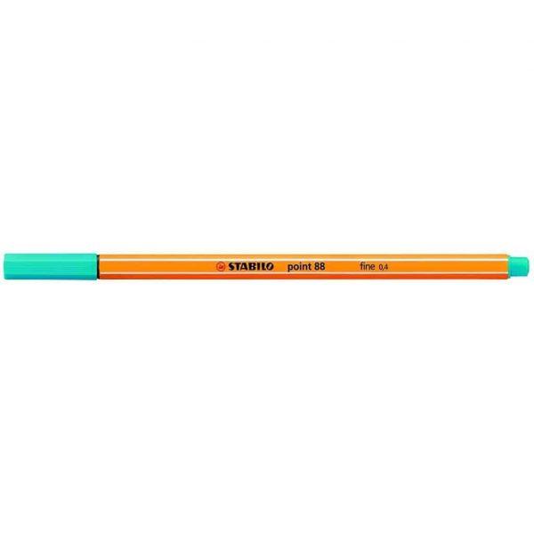 Stabilo pennarello punta fine Point 88 azzurro chiaro