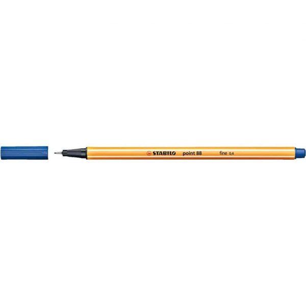 Stabilo pennarello punta fine Point 88 blu scuro