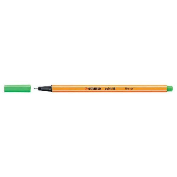 Stabilo pennarello punta fine Point 88 verde smeraldo chiaro