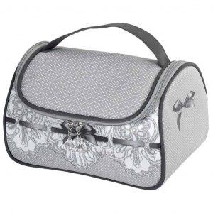Beauty case da viaggio MATHILDE M modello Dentelle grey 22x14x14cm