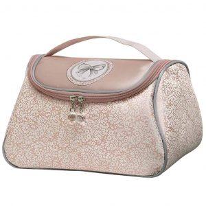 Beauty case da viaggio MATHILDE M modello Dentelle rosa
