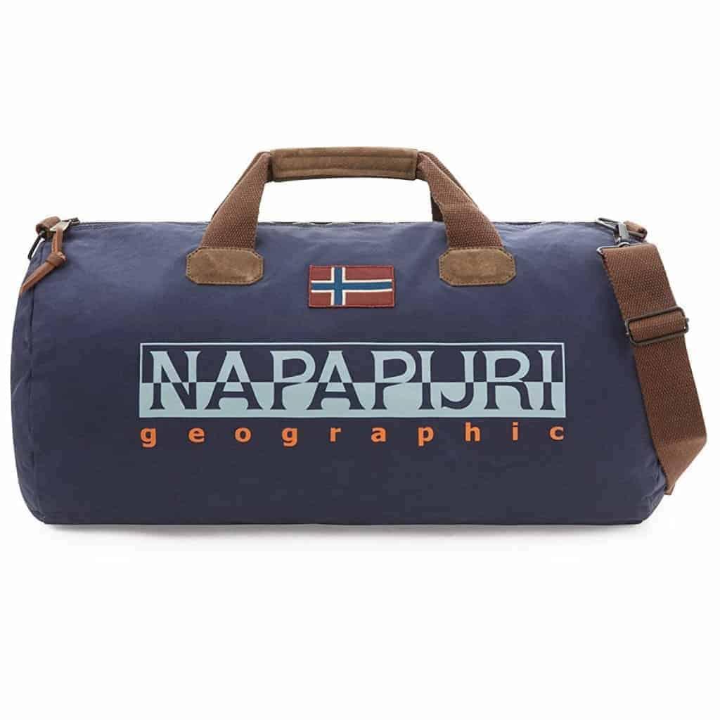 Borsone da viaggio Napapijri BERING 48lt blu marine. TRASPORTO GRATIS 6604f98d617e