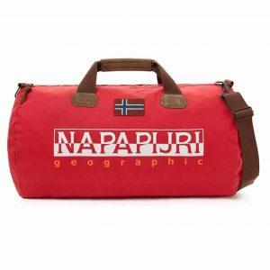 Borsone da viaggio Napapijri BERING 48lt pop red
