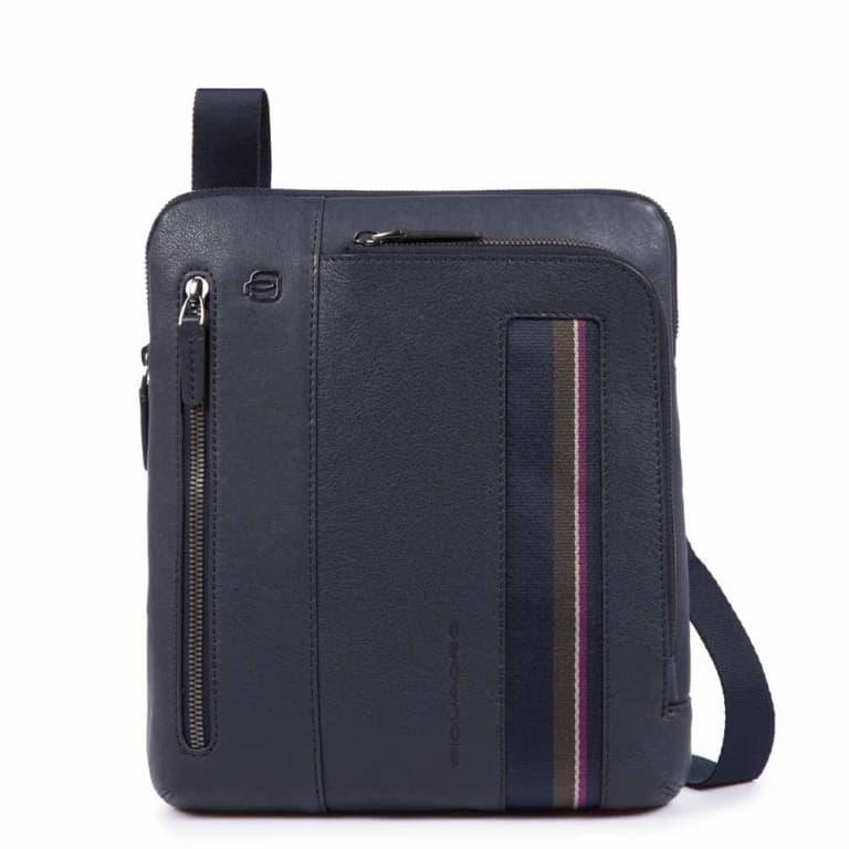 d6b26b561053f1 Borsello Piquadro porta iPad B3s in pelle blu
