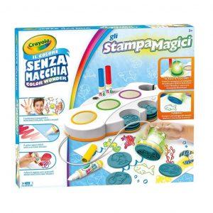 Gli StampaMagici  Crayola il colore senza macchia