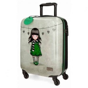 Trolley Gorjuss ABS 4 Ruote 55cm THE SCARF