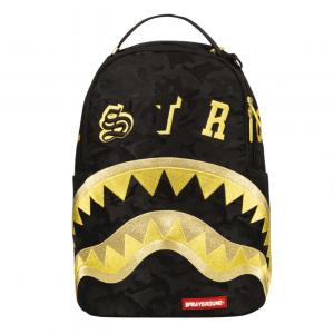 Zaino Sprayground DESTROY SHARK (GOLD CAMO)