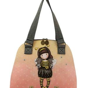 Borsa Shopping bag con manici Gorjuss Bee Loved
