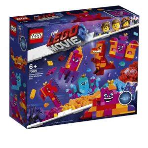 """LEGO Movie La scatola """"costruisci quello che vuoi"""" della Regina Wello Ke Wuoglio"""