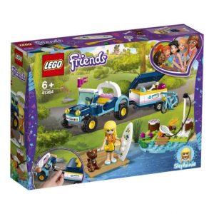 Lego Friends Il buggy con rimorchio di Stephanie