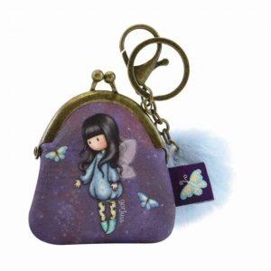 Portamonete con portachiavi Gorjuss Bubble Fairy