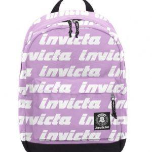 Zaino Carlson LETTERING Invicta Backpack Lilla