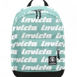 Zaino Carlson LETTERING Invicta Backpack Verde Acqua
