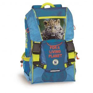 61e873a460 Zaino WWF adventure boy azzurro estensibile con gadjet omaggio