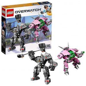 Lego OVERWATCH D.Va e Reinhardt