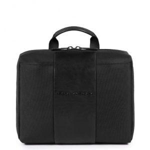 Beauty Case Piquadro con gancio in tessuto Brief nero
