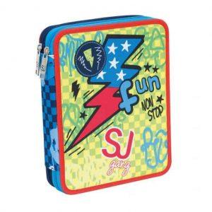 Seven Astuccio Maxi 2 Zip SJ Boy Giallo