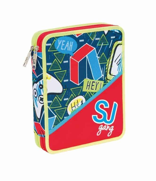 1edaec4b97 Seven Astuccio Maxi 2 Zip SJ Boy Rosso