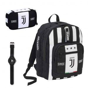 Juventus School Pack Zaino Maxi League + Quick case completo