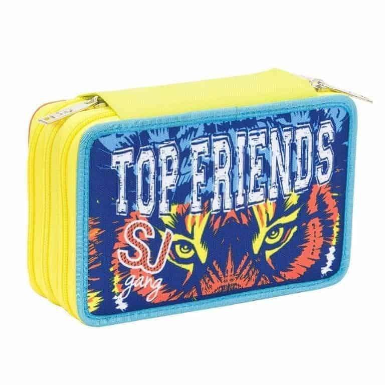 Seven Astuccio 3 Zip SJ Gang Top Friends Boy