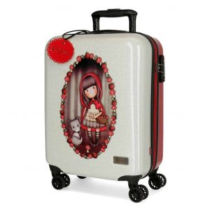 Trolley Gorjuss ABS 4 Ruote 55cm LITTLE RED RIDING HOOD