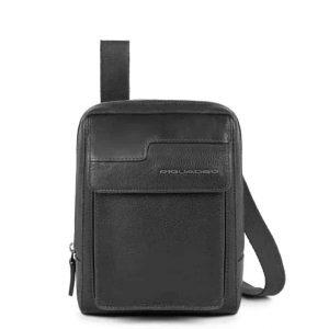 Borsello Piquadro porta iPad mini in pelle Wostok nero