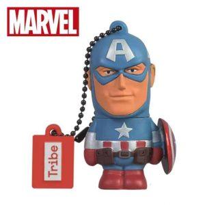 Captain America USB 16 GB Avengers Marvel Tribe