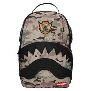 Zaino Sprayground Multi Camo Rubber Black Shark
