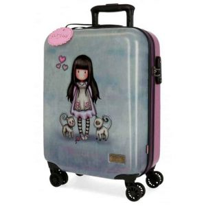 Trolley Gorjuss ABS 4 Ruote 55cm TALL TAILS