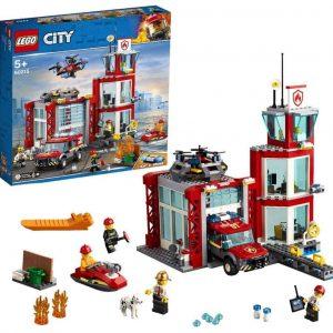 LEGO City Caserma dei Pompieri su 3 Livelli