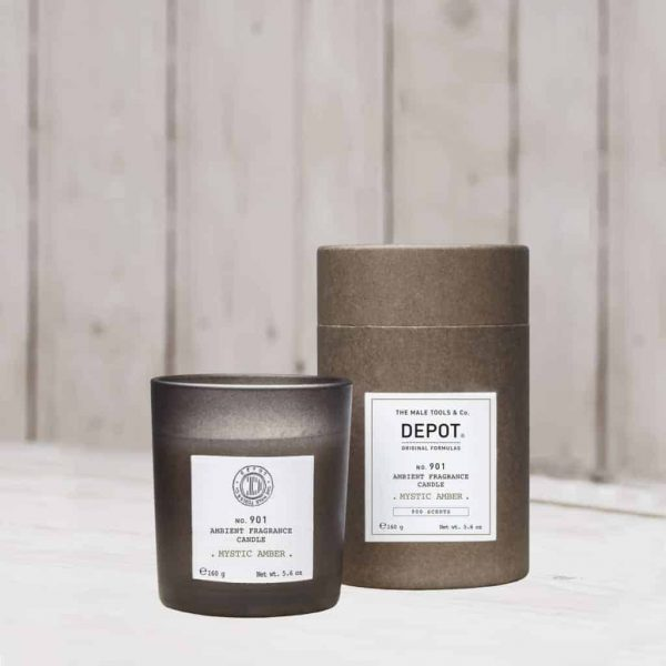 DEPOT 901 Ambient Fragrance Candle Mystic Amber 160gr