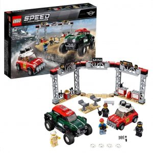 Speed Champions 1967 Mini Cooper S Rally e 2018 MINI John Cooper Works Buggy