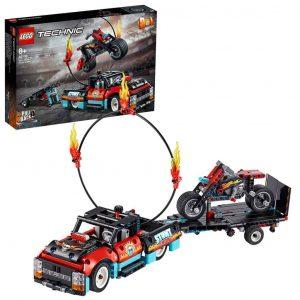 Technic Truck e moto dello Stunt Show