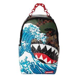 Zaino Sprayground CAMOKAWA WAVE SHARK