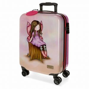 Trolley Gorjuss WISHING & HOPING ABS 4 Ruote 55cm