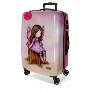 Trolley Gorjuss WISHING & HOPING ABS 4 Ruote 67cm