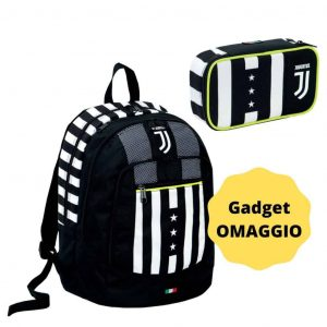 Juventus School Pack Zaino Advanced Winner Foverer+Bustina