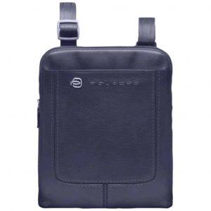 Borsello Piquadro porta iPad Pelle VIBE blu