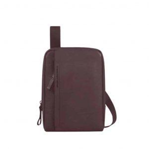 Borsello Piquadro porta iPad mini in pelle Pan Testa Moro