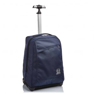 Trolley Invicta BENIN Solid Recycled 35 lt Blu