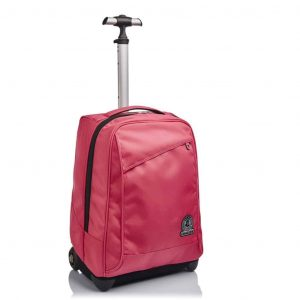 Trolley Invicta BENIN Solid Recycled 35 lt Rosa