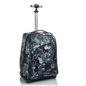 Zaino Trolley Invicta CAMO SHADE 35 lt Nero