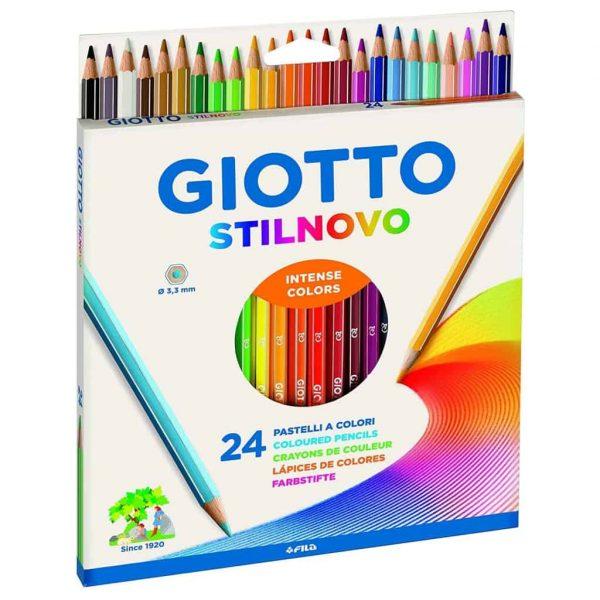 Matite Giotto Stilnovo Conf. 24 Colori